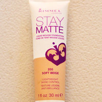 Rimmel London Stay Matte Liquid Mousse Foundation uploaded by Allie K.