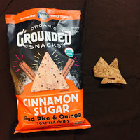 Lundberg® Organic Grounded Snacks™ Cinnamon Sugar Red Rice & Quinoa Tortilla Chips 5.5 oz. Bag uploaded by K R.