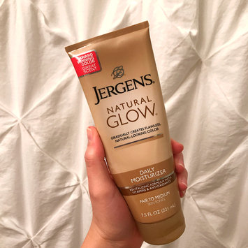 Photo of JERGENS® Natural Glow® Daily Moisturizer uploaded by Ashley H.