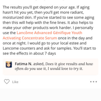 Photo uploaded to Estée Lauder Advanced Night Repair Synchronized Recovery Complex II by Diana M.