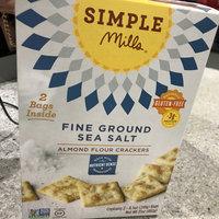 Fine Ground Sea Salt Almond Flour Crackers uploaded by Calista v.