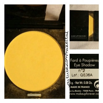 Photo of MAKE UP FOR EVER Eyeshadow uploaded by Ashley S.