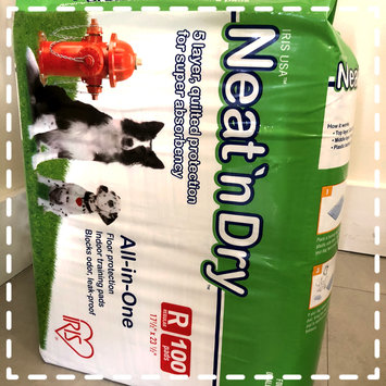 Photo of Iris Neat 'n Dry Training Pads for Puppies and Dogs of All Ages uploaded by Milena R.