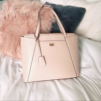 Michael Kors Mae Large Leather Tote, Pink uploaded by Lyndsey M.
