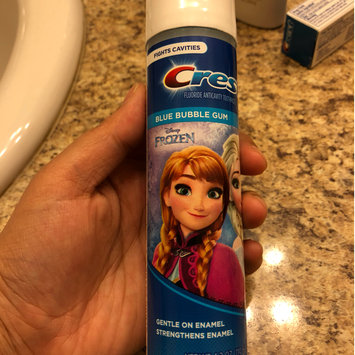 Photo of Crest Kid's Toothpaste Featuring Disney's Frozen uploaded by Wafa D.