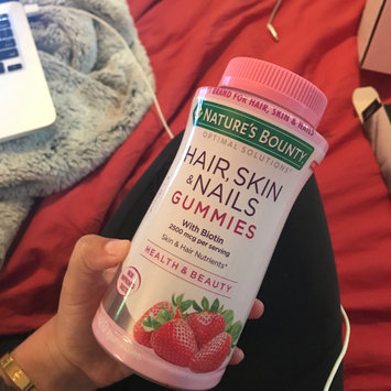 Photo of Nature's Bounty® Optimal Solutions® Hair, Skin & Nails Gummies uploaded by Ali W.