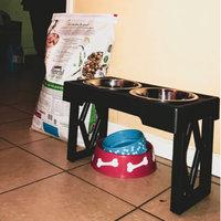OUR PETS Barking Bistro Adjustable Dog Feeder - Black - 2.9In/8In/12In uploaded by Janet H.