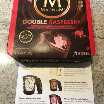 Photo of Magnum® Double Raspberry Ice Cream Bars 3 count Box uploaded by Steph G.