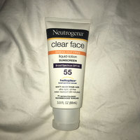 Neutrogena® Clear Face Break-Out Free Liquid Lotion Sunscreen Broad Spectrum SPF 55 uploaded by Emma H.