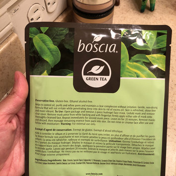 Photo of boscia Green Tea Mattifying Hydrogel Mask uploaded by Stephanie E.