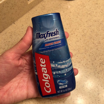 Photo of Colgate® MaxFresh® with WHITENING MINI BREATH STRIPS Toothpaste Cool Mint uploaded by Stephanie E.