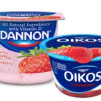 Dannon® Whole Milk Yogurt Strawberry Kiwi uploaded by Rene S.