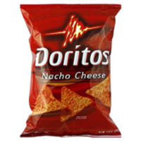 Doritos®  Nacho Cheese Flavored Tortilla Chips uploaded by Rene S.