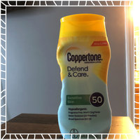 Coppertone Defend & Care Sensitive Skin Sunscreen Broad Spectrum SPF 50 Lotion, 6 Fluid Ounces uploaded by Tatiana R.