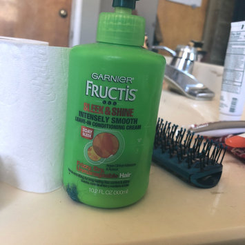 Photo of Garnier Fructis Sleek & Shine Intensely Smooth Leave-In Conditioning Cream uploaded by Chazz G.
