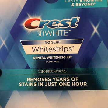 Photo of Crest 3D White Luxe Professional Effects Whitestrips Teeth Whitening Kit uploaded by Lisa M.