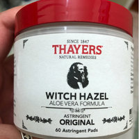 Thayers Original Witch Hazel with Organic Aloe Vera Formula Astringent Pads uploaded by Nadia N.