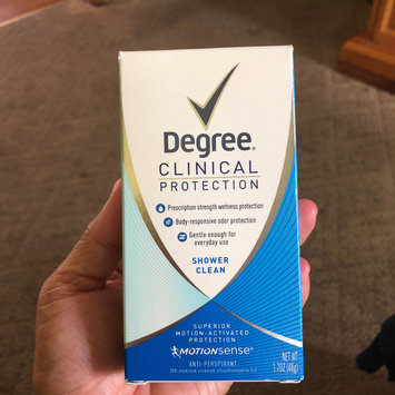 Photo of Degree Women® Clinical Protection® Active Clean Anti-Perspirant & Deodorant uploaded by Jeannie U.