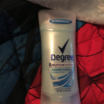 Photo of Degree® Expert Protection with MotionSense™ uploaded by Desiree F.