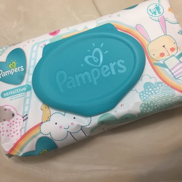 Photo of Pampers® Sensitive™ Wipes uploaded by Teela C.