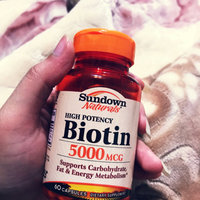Sundown Naturals Biotin uploaded by Ammra M.