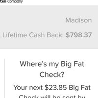 Ebates uploaded by Madison K.