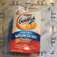 Goldfish® Cheddar Baked Cheddar Snack Crackers uploaded by caioamsouza S.