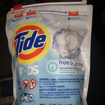 Photo of Tide PODS® Free and Gentle Laundry Detergent uploaded by Hope U.