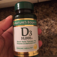Nature's Bounty Ultra Strength Vitamin D-3 10 uploaded by Wilka B.