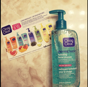 Photo of Clean & Clear® Morning Burst® Hydrating Facial Cleanser uploaded by malsh b.