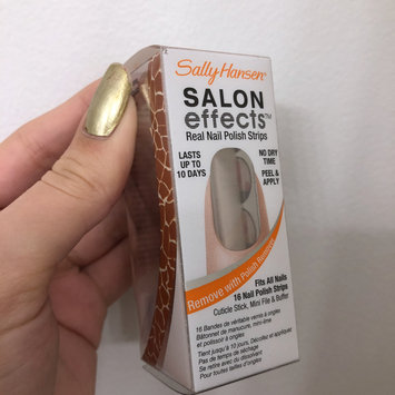 Photo of Sally Hansen® Salon Effects Real Nail Polish Strips uploaded by Official S.
