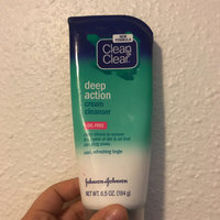 Clean & Clear® Deep Action Cream Cleanser uploaded by Ashlye A.