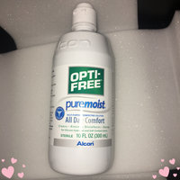 OPTI-FREE® Puremoist®  Multi-Purpose Contact Lens Solution uploaded by Antonia M.