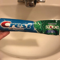 Crest Complete Whitening Plus Scope Outlast Toothpaste uploaded by Sarah L.