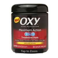 Oxy Daily Cleansing Pads, Maximum, 55 pads uploaded by 7 23 P.