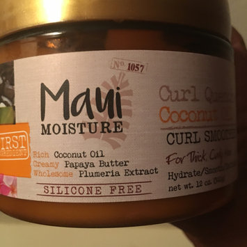 Photo uploaded to Maui Moisture Curl Quench +Coconut Oil Curl Smoothie by TheTalkalotGirl T.