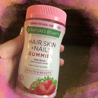 Nature's Bounty Hair, Skin & Nails Gummies uploaded by Alexis T.
