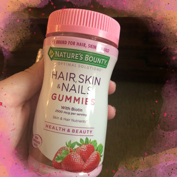 Photo of Nature's Bounty® Optimal Solutions® Hair, Skin & Nails Gummies uploaded by Alexis T.