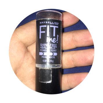 Photo of Maybelline Fit Me® Shine-Free + Balance® Stick Foundation uploaded by Nicole T.