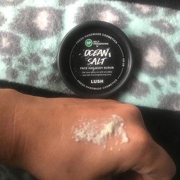 Photo of LUSH Ocean Salt Face and Body Scrub uploaded by Amanda W.