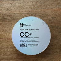 IT Cosmetics® Your Skin But Better™ CC+ Airbrush Perfecting Powder Illumination™ with SPF 50+ uploaded by Cameron O.