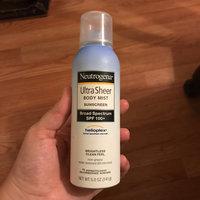 Neutrogena® Ultra Sheer® Body Mist Sunscreen Broad Spectrum SPF 100+ uploaded by Jade D.