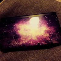 Nintendo 3DS XL Galaxy with Zelda Ocarina of Time and Screen Protector uploaded by Amie F.