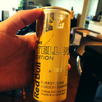 Red Bull Yellow Edition Energy Drink uploaded by Erika S.