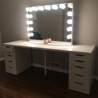 Impressions Vanity Co. Hollywood Glow(TM) Vanity Mirror, Size One Size - Glossy White uploaded by L S.
