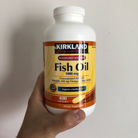 Kirkland Signature Natural Fish Oil Concentrate with Omega-3 Fatty Acids, 400 Softgels, 1000mg uploaded by ELMENS M.