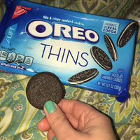 Oreo Sandwich Cookies Chocolate Thins uploaded by Jessica P.