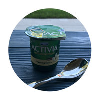 Activia®  Vanilla Probiotic Yogurt uploaded by Gilmarys E.