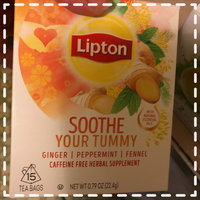 Lipton®  Soothe Your Tummy Herbal Supplement uploaded by Amber b.