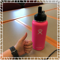Hydro Flask 32oz Wide Mouth Vacuum Insulated Stainless Steel Water Bottle w/Flex Cap uploaded by Meredith M.
